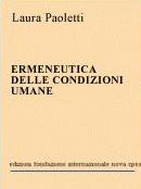 1990 - Ermeneutica delle condizioni umane
