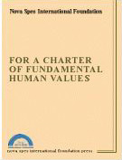 1994- For a Charter of Fundamental Human Values